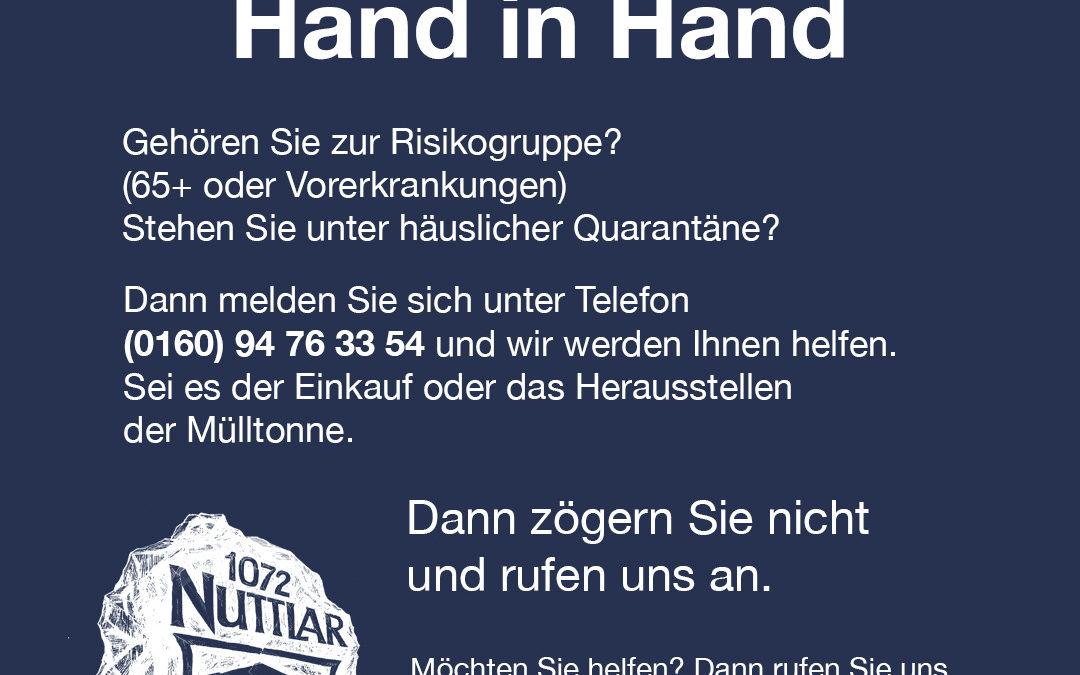 Eine Initiative der Dorfgemeinschaft Nuttlar: Nuttlar Hand-in-Hand